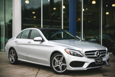 Pre-Owned 2015 Mercedes-Benz C-Class C 400 AWD