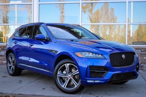 New 2018 Jaguar F-PACE 25t R-Sport With Navigation & AWD