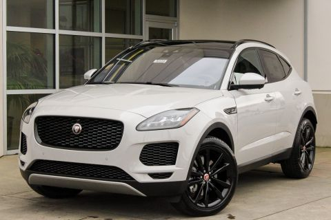 New 2018 Jaguar E-PACE SE With Navigation & AWD