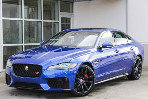 New 2018 Jaguar XF S With Navigation & AWD