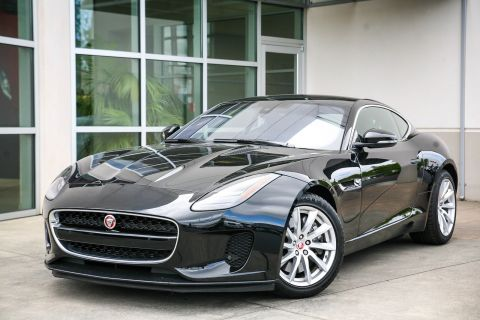 Pre-Owned 2018 Jaguar F-TYPE 340HP With Navigation