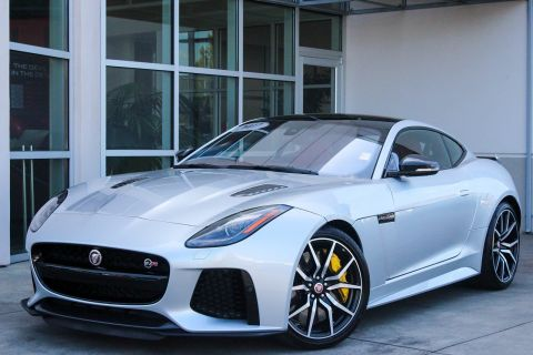 Certified Pre-Owned 2017 Jaguar F-TYPE SVR With Navigation & AWD