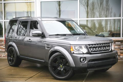 Certified Pre-Owned 2014 Land Rover LR4 HSE 4WD