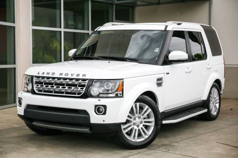 Certified Pre-Owned 2015 Land Rover LR4 LUX 4WD