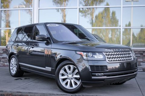 Certified Pre-Owned 2016 Land Rover Range Rover Diesel HSE With Navigation & 4WD
