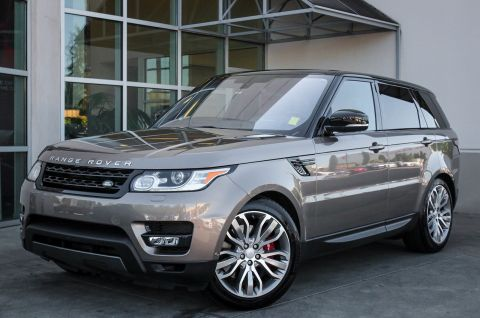Certified Pre-Owned 2016 Land Rover Range Rover Sport V8 Dynamic With Navigation & 4WD