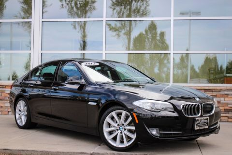 Pre-Owned 2012 BMW 5 Series 535i RWD 4dr Car