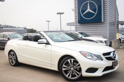 Pre-Owned 2014 Mercedes-Benz E-Class E 350 RWD Convertible