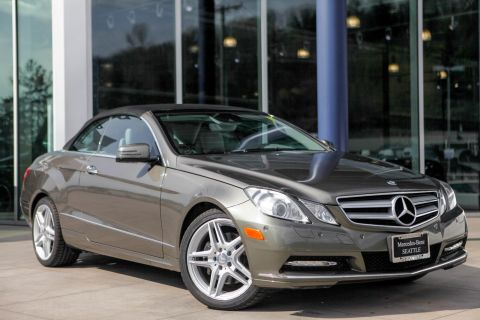 Pre-Owned 2012 Mercedes-Benz E-Class E 350 RWD Convertible