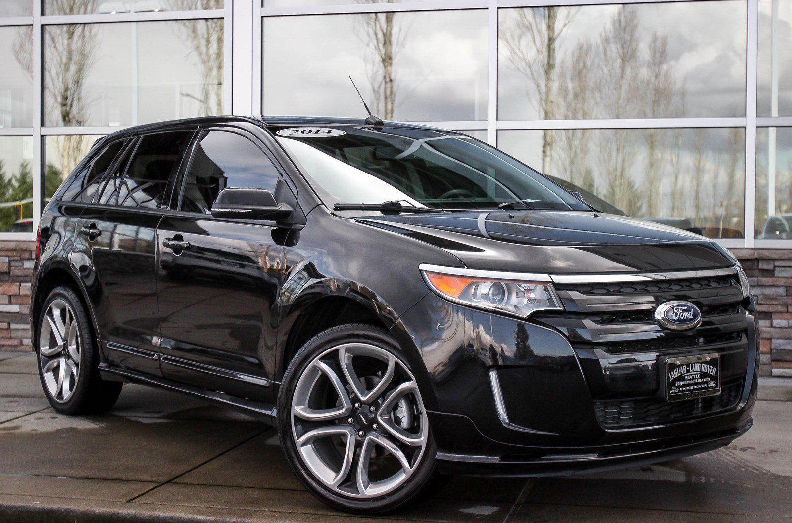 pre owned 2014 ford edge sport sport utility in lynnwood 59834a jaguar seattle. Black Bedroom Furniture Sets. Home Design Ideas