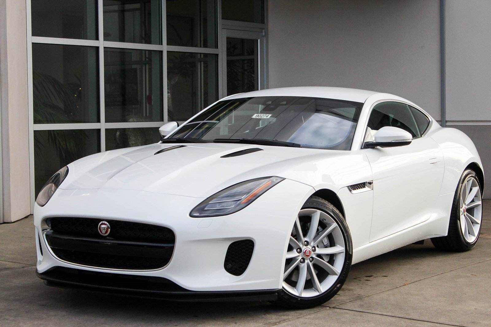 New 2018 Jaguar F-TYPE 296HP