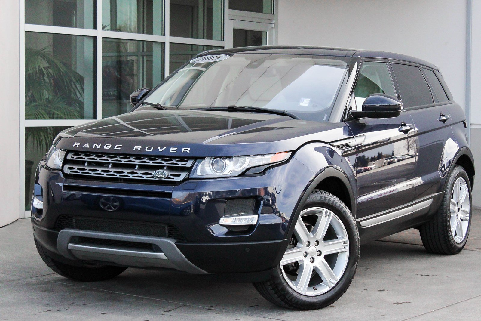 Certified Pre-Owned 2015 Land Rover Range Rover Evoque Pure Plus