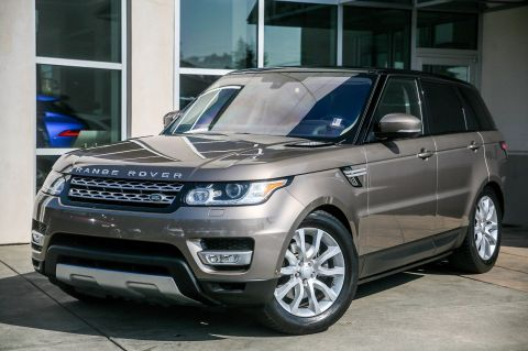 Certified Pre-Owned 2016 Land Rover Range Rover Sport V6 Diesel HSE